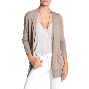 14TH & UNION Nordstrom Long Girlfriend Cardigan